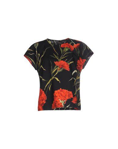 Dolce & Gabbana | Черный Женская черная блузка DOLCE & GABBANA плотная ткань | Clouty