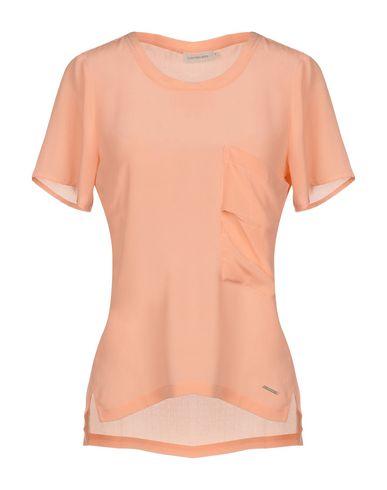 Calvin Klein Jeans | Лососево-розовый Женская блузка CALVIN KLEIN JEANS Атлас | Clouty