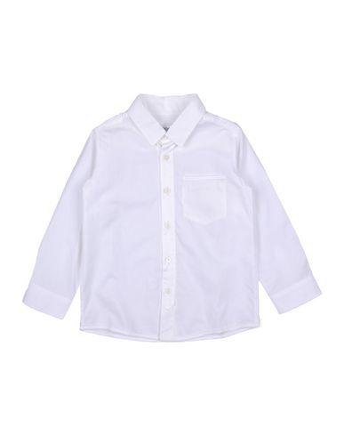 Simonetta | Белый Детская белая рубашка SIMONETTA TINY плотная ткань | Clouty