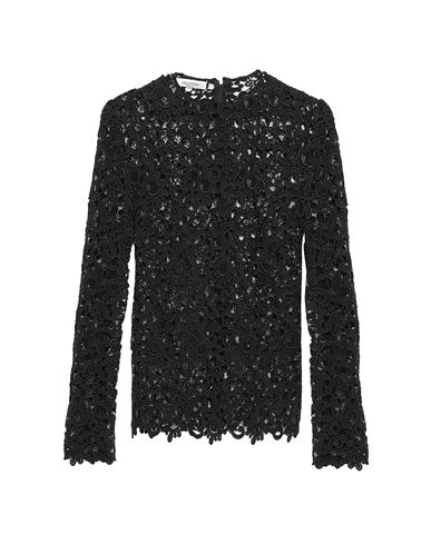 VALENTINO | Черный Женская черная блузка VALENTINO Тюль | Clouty
