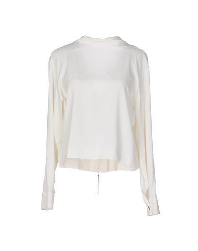 Marni | Слоновая кость Женская блузка MARNI одноцветное изделие | Clouty