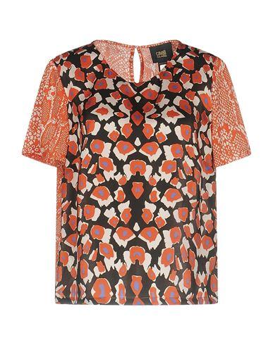 Cavalli Class | Оранжевый Женская оранжевая блузка CAVALLI CLASS атлас | Clouty