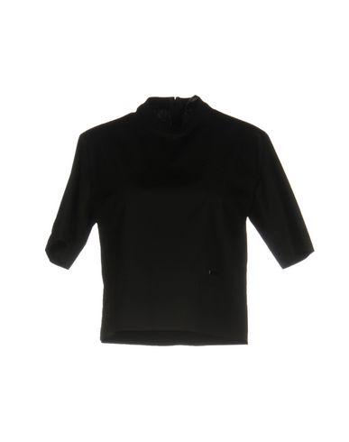 DSQUARED2   Черный Женская черная блузка DSQUARED2 Плотная ткань   Clouty