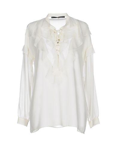 Annarita N | Белый Женская белая блузка ANNARITA N креп | Clouty