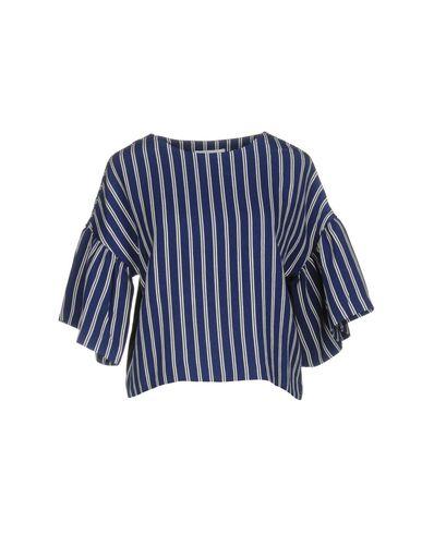 Weili Zheng | Синий Женская синяя блузка WEILI ZHENG плотная ткань | Clouty