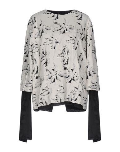 Marni | Слоновая кость Женская блузка MARNI атлас | Clouty