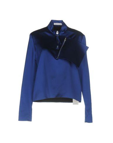 J.W. Anderson | Ярко-синий Женская блузка J.W.ANDERSON Атлас | Clouty