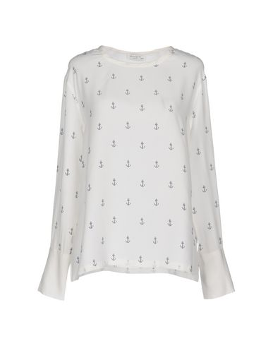Equipment | Белый Женская белая блузка EQUIPMENT атлас | Clouty