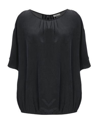 Joie | Черный Женская черная блузка JOIE креп | Clouty