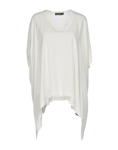 Fabrizio Lenzi | Белый Женская белая блузка FABRIZIO LENZI креп | Clouty