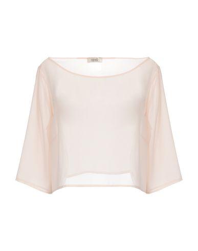 Liu•Jo | Телесный Женская телесная блузка LIU •JO креп | Clouty