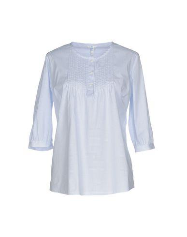 Sophie | Небесно-голубой Женская блузка SOPHIE плотная ткань | Clouty