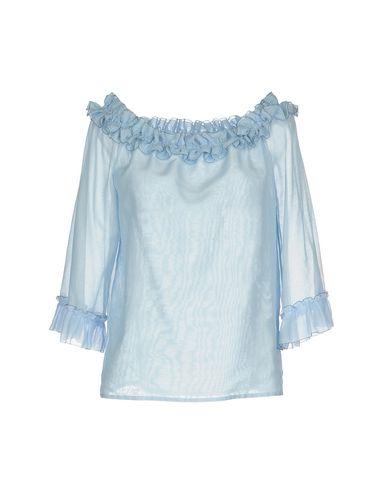 Blumarine | Небесно-голубой Женская блузка BLUMARINE плотная ткань | Clouty