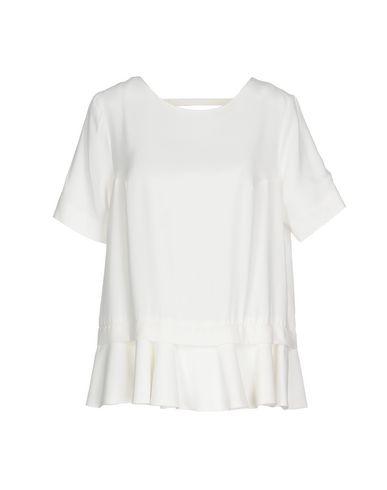Dondup | Белый Женская белая блузка DONDUP креп | Clouty