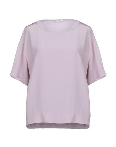 Agnona   Сиреневый Женская сиреневая блузка AGNONA креп   Clouty