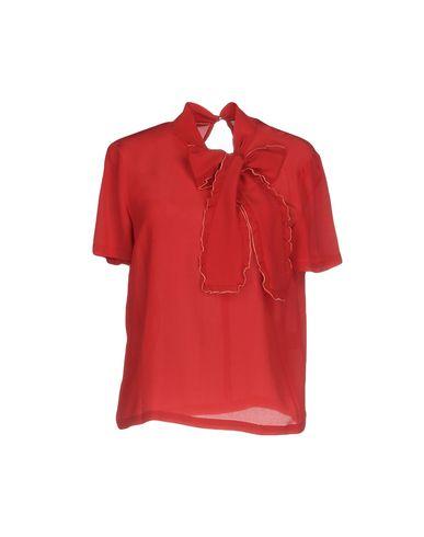 L'Autre Chose | Красный Женская красная блузка L' AUTRE CHOSE креп | Clouty