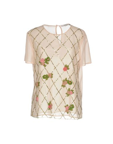 Blugirl Blumarine | Светло-розовый Женская светло-розовая блузка BLUGIRL BLUMARINE креп | Clouty