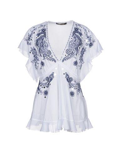 Roberto Cavalli   Белый Женская белая блузка ROBERTO CAVALLI кружево   Clouty