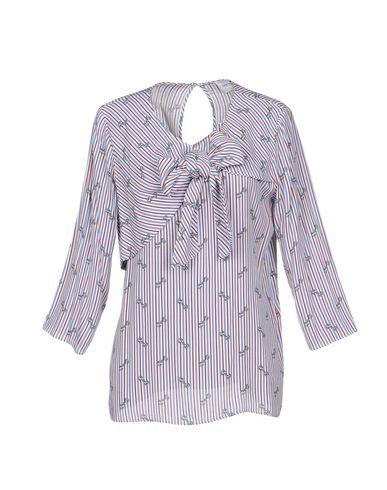 Annarita N Twenty 4h | Синий Женская синяя блузка ANNARITA N TWENTY 4H креп | Clouty