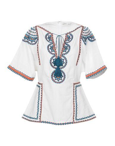 Talitha | Белый Женская белая блузка TALITHA плотная ткань | Clouty
