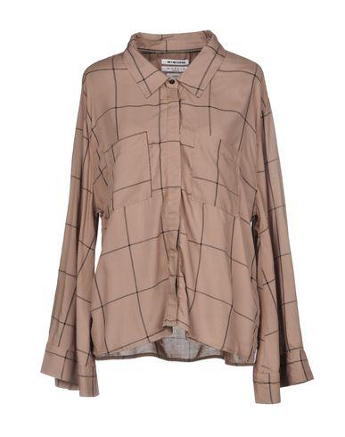 One X OneTeaspoon | Хаки Женская рубашка ONE x ONETEASPOON плотная ткань | Clouty