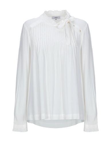 Suncoo | Белый Женская белая блузка SUNCOO креп | Clouty