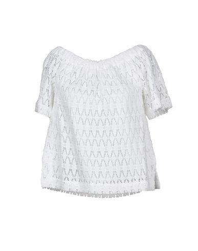 A.L.C. | Белый Женская белая блузка A.L.C. кружево | Clouty