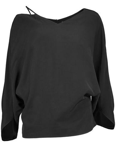 Chalayan   Черный Женская черная блузка CHALAYAN плотная ткань   Clouty
