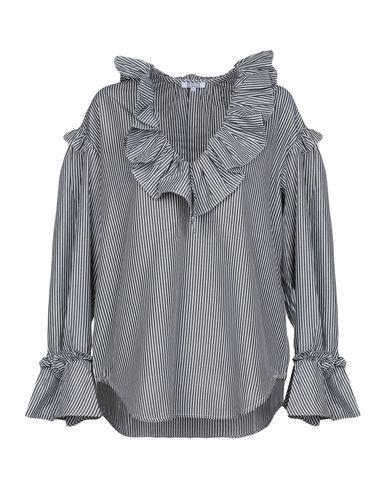 Brigitte Bardot | Стальной серый Женская блузка BRIGITTE BARDOT плотная ткань | Clouty