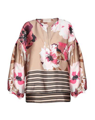 Kaos | Хаки Женская блузка KAOS JEANS атлас | Clouty