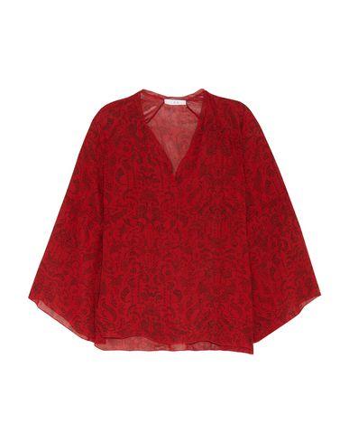 IRO | Красный Женская красная блузка IRO креп | Clouty