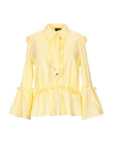 Elisabetta Franchi | Желтый Женская желтая блузка ELISABETTA FRANCHI плотная ткань | Clouty