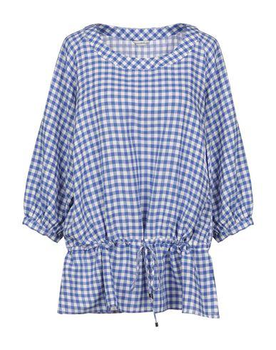 Camicettasnob | Синий Женская синяя блузка CAMICETTASNOB Плотная ткань | Clouty