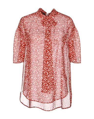 Giambattista Valli | Красный; Черный Женская красная блузка GIAMBATTISTA VALLI Грогрен | Clouty
