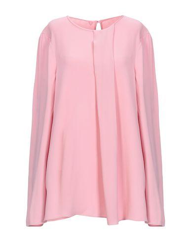 Twin-Set   Розовый; Черный; Бежевый Женская розовая блузка TWINSET креп   Clouty
