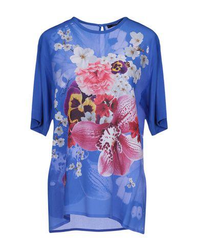 Roberto Cavalli | Синий Женская синяя блузка ROBERTO CAVALLI атлас | Clouty