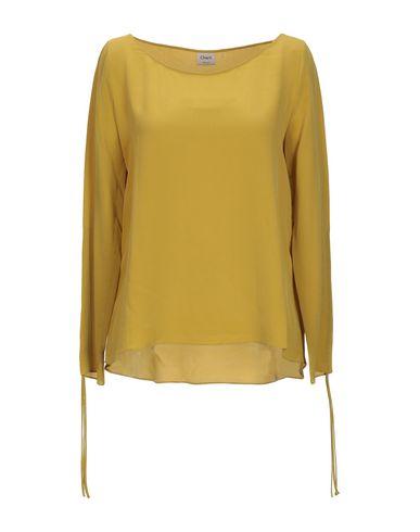 Charli | Охра Женская блузка CHARLI креп | Clouty