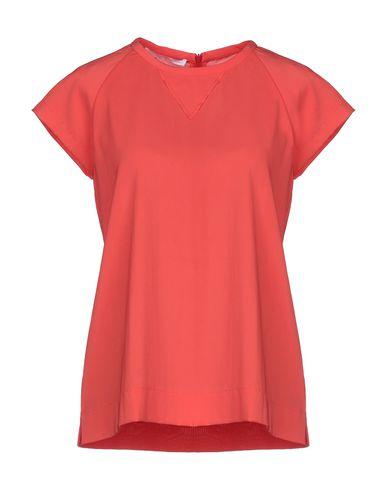 Les Copains   Оранжевый Женская оранжевая блузка LES COPAINS креп   Clouty