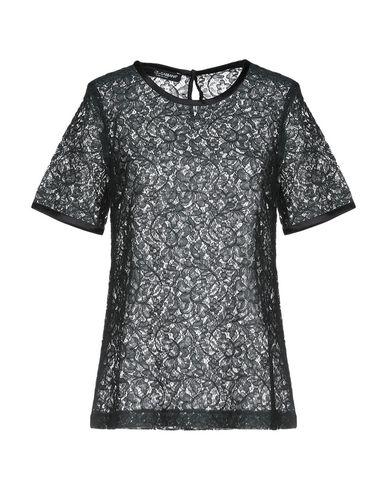Dolce & Gabbana | Темно-зеленый Женская темно-зеленая блузка DOLCE & GABBANA кружево | Clouty