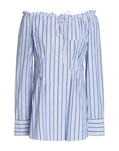 TIBI | Небесно-голубой Женская блузка TIBI плотная ткань | Clouty