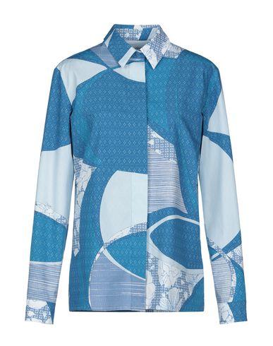 Emilio Pucci | Лазурный Женская лазурная рубашка EMILIO PUCCI плотная ткань | Clouty