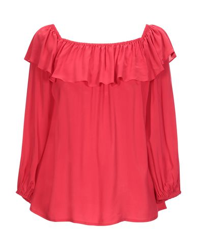 Velvet By Graham & Spencer   Красный; Темно-синий Женская красная блузка VELVET by GRAHAM & SPENCER плотная ткань   Clouty