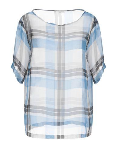 Dries Van Noten | Лазурный Женская лазурная блузка DRIES VAN NOTEN органза | Clouty