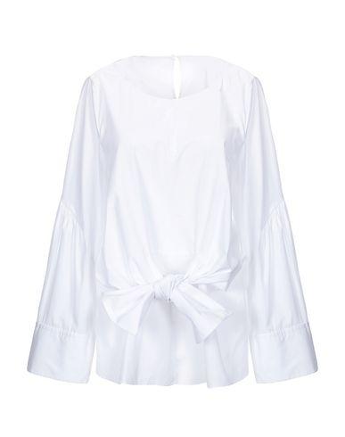 3.1 Phillip Lim   Белый Женская белая блузка 3.1 PHILLIP LIM плотная ткань   Clouty