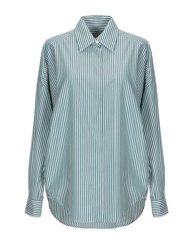 Alberto Biani | Темно-зеленый Женская темно-зеленая рубашка ALBERTO BIANI плотная ткань | Clouty
