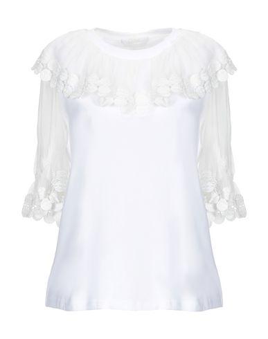 Chloé | Белый Женская белая блузка CHLOE джерси | Clouty