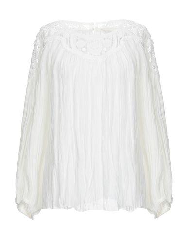 Chloé | Белый Женская белая блузка CHLOE кружево | Clouty