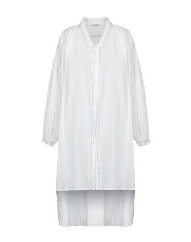 Mes Demoiselles | Белый Женская белая рубашка MES DEMOISELLES плотная ткань | Clouty