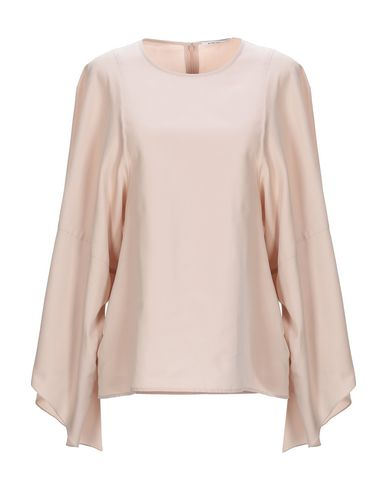 Agnona | Розовый Женская розовая блузка AGNONA плотная ткань | Clouty