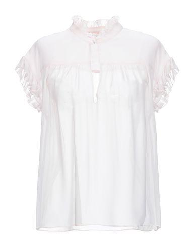Giambattista Valli | Светло-розовый Женская светло-розовая блузка GIAMBATTISTA VALLI креп | Clouty